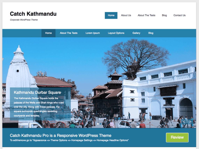 WordPress theme catch-kathmandu
