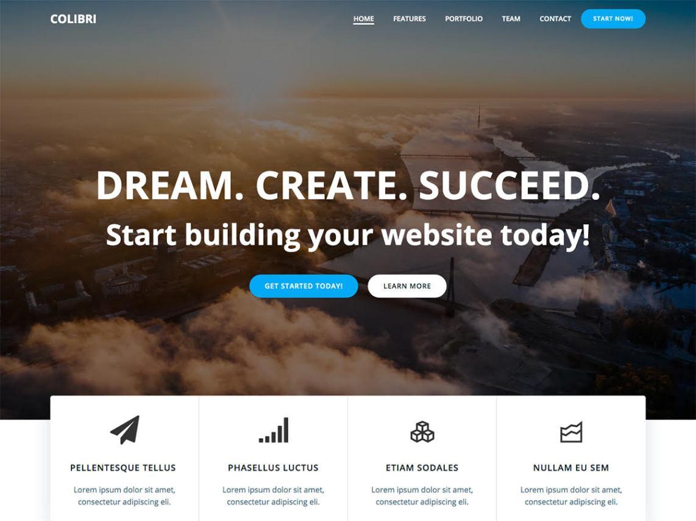 WordPress theme colibri-wp