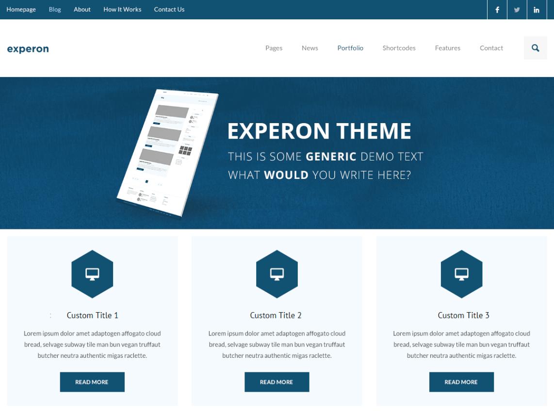 WordPress theme experon-ebusiness