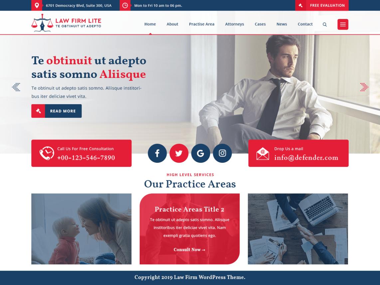 WordPress theme law-firm-lite