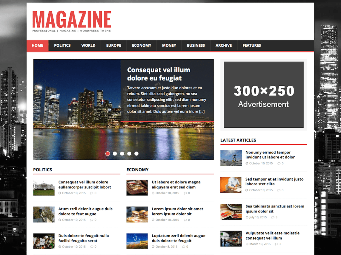 WordPress theme mh-magazine-lite