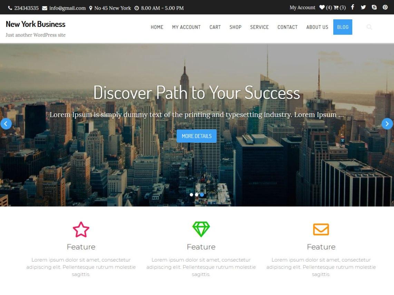 WordPress theme new-york-business