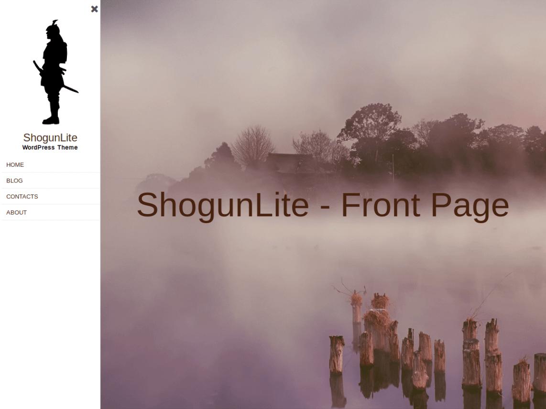 WordPress theme shogunlite