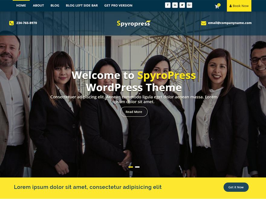 WordPress theme spyropress
