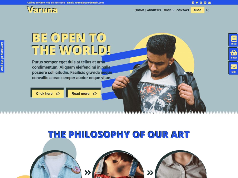 WordPress Theme Varuna